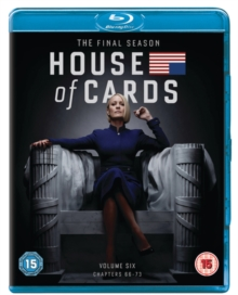 House of Cards: The Complete Final Season, Blu-ray BluRay