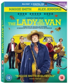 The Lady in the Van, Blu-ray BluRay