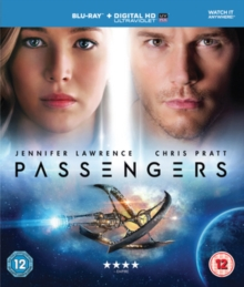 Passengers, Blu-ray BluRay