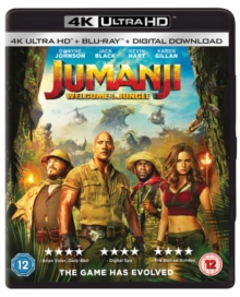 Jumanji - Welcome to the Jungle, Blu-ray BluRay