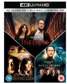 The Da Vinci Code/Angels and Demons/Inferno, Blu-ray BluRay