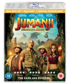 Jumanji: Welcome to the Jungle, Blu-ray BluRay
