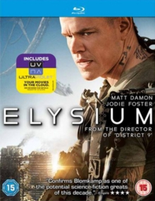 Elysium, Blu-ray  BluRay