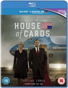 House of Cards: The Complete Third Season, Blu-ray BluRay