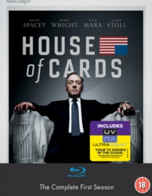 House of Cards: The Complete First Season, Blu-ray BluRay