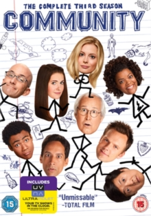 Community: The Complete Third Season, DVD DVD
