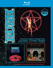 Rush: 2112/Moving Pictures, Blu-ray BluRay