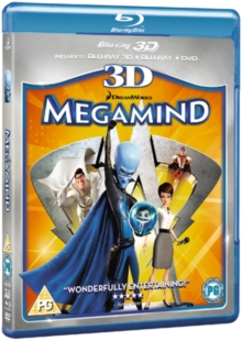 Megamind, Blu-ray  BluRay