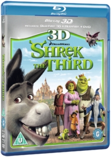 Shrek the Third, Blu-ray  BluRay