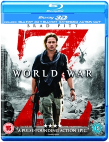 World War Z: Extended Action Cut, Blu-ray  BluRay