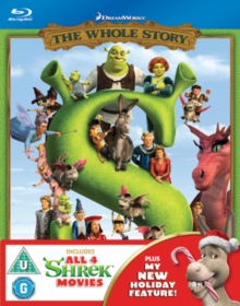 Shrek/Shrek 2/Shrek the Third/Shrek: Forever After - The Final..., Blu-ray  BluRay