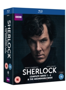 Sherlock: Complete Series 1-4 & the Abominable Bride, Blu-ray BluRay