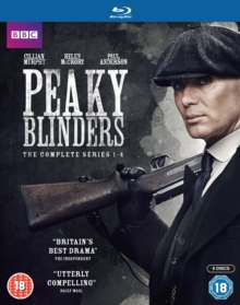 Peaky Blinders: The Complete Series 1-4, Blu-ray BluRay