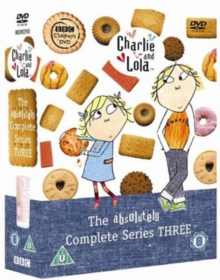 Charlie and Lola: The Absolutely Complete Series 3, DVD  DVD