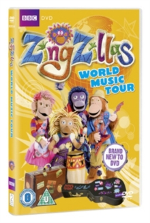 Zingzillas: World Music Tour, DVD  DVD
