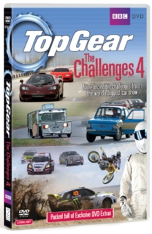 Top Gear - The Challenges: Volume 4, DVD  DVD