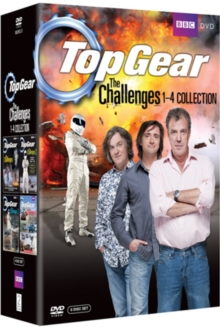 Top Gear - The Challenges: Volumes 1-4, DVD  DVD
