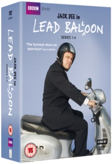Lead Balloon: Series 1-4, DVD  DVD