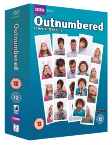 Outnumbered: Series 1-4, DVD  DVD