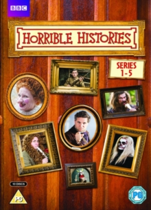 Horrible Histories: Series 1-5, DVD  DVD