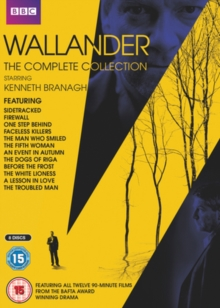 Wallander: The Complete Collection, DVD DVD