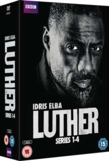 Luther: Series 1-4, DVD  DVD