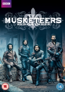 The Musketeers: Series 3, DVD DVD