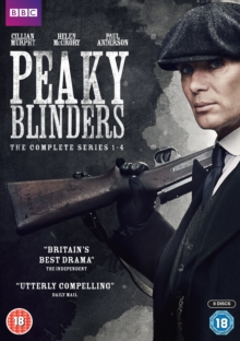 Peaky Blinders: The Complete Series 1-4, DVD DVD