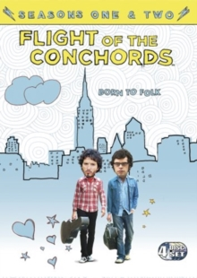Flight of the Conchords: Seasons 1 and 2, DVD DVD