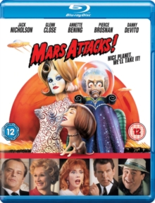 Mars Attacks!, Blu-ray  BluRay