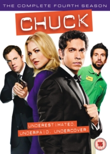Chuck: The Complete Fourth Season, DVD  DVD