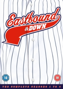 Eastbound & Down: The Complete Seasons 1-4, DVD DVD