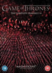 Game of Thrones: The Complete Seasons 1-4, DVD DVD