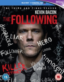 The Following: The Third and Final Season, Blu-ray BluRay