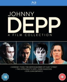 Johnny Depp Collection, Blu-ray  BluRay