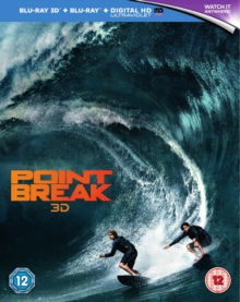 Point Break, Blu-ray BluRay