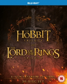 The Hobbit Trilogy/The Lord of the Rings Trilogy: Extended..., Blu-ray BluRay