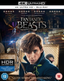 Fantastic Beasts and Where to Find Them, Blu-ray BluRay