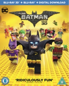 The LEGO Batman Movie, Blu-ray BluRay