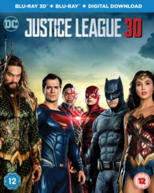 Justice League, Blu-ray BluRay