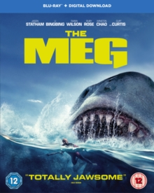 The Meg, Blu-ray BluRay
