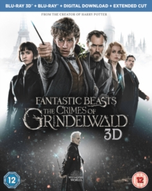 Fantastic Beasts: The Crimes of Grindelwald, Blu-ray BluRay