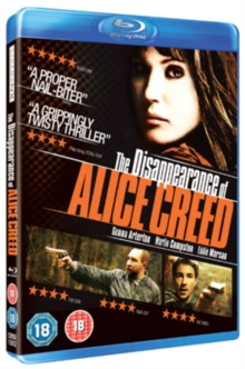 The Disappearance of Alice Creed, Blu-ray BluRay