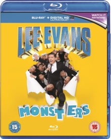 Lee Evans: Monsters, Blu-ray  BluRay