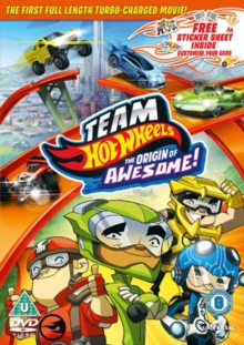 Team Hot Wheels: The Origin of Awesome!, DVD  DVD