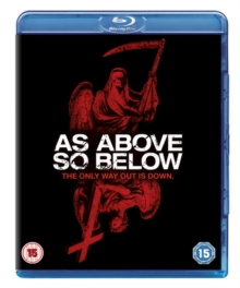 As Above, So Below, Blu-ray  BluRay