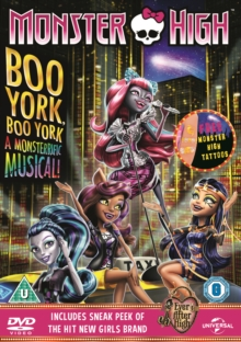 Monster High: Boo York! Boo York!, DVD  DVD
