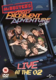 McBusted: Most Excellent Adventure Tour - Live at the O2, DVD  DVD