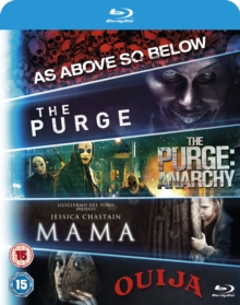 Mama/The Purge/The Purge: Anarchy/Ouija/As Above, So Below, Blu-ray  BluRay