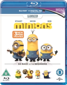 Minions, Blu-ray  BluRay